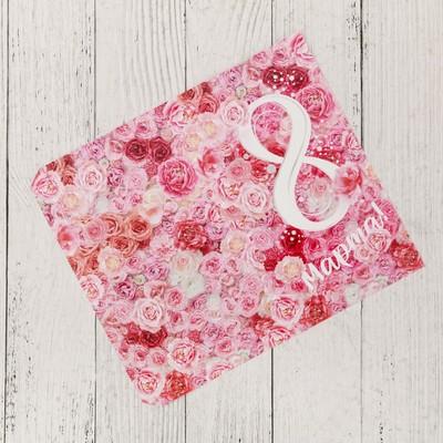 Обёртка для шоколада «Цветочное 8 марта», 18.2 x 15.5 см