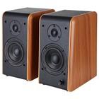 Акустическая система 2.0 Microlab B-77, 2x24Вт, 220В, коричневая