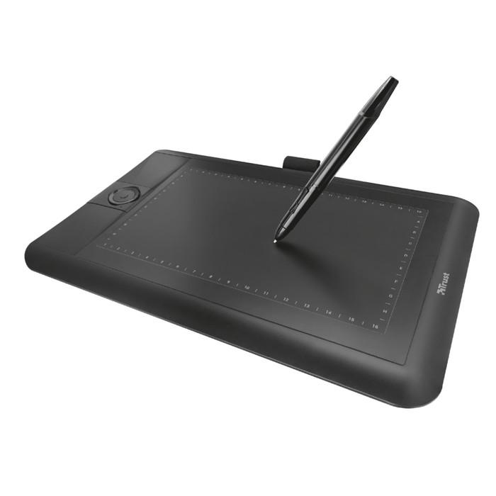 Графический планшет Trust Panora, USB, черный