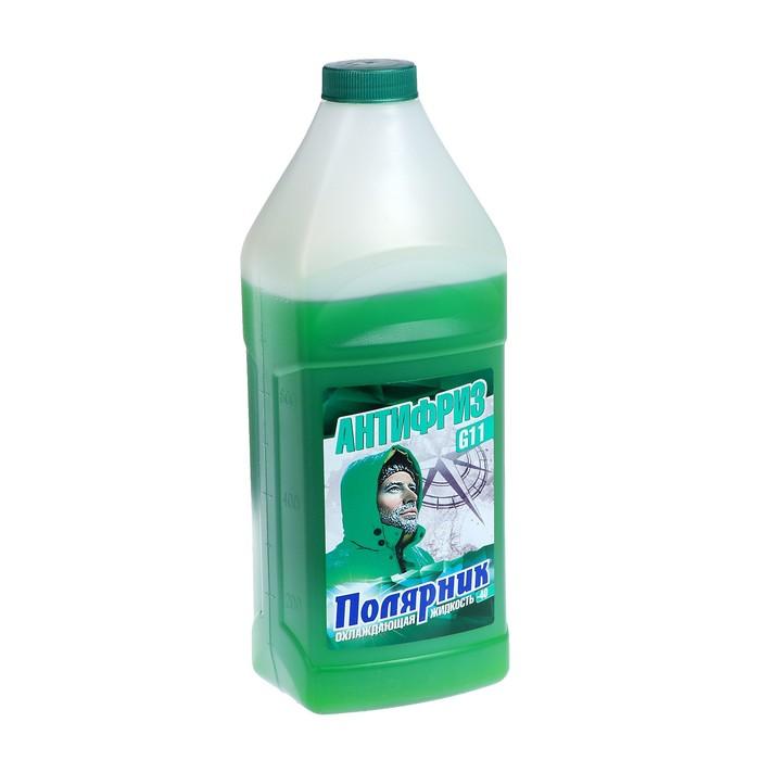 Антифриз Полярник - 40, зеленый, 1 кг