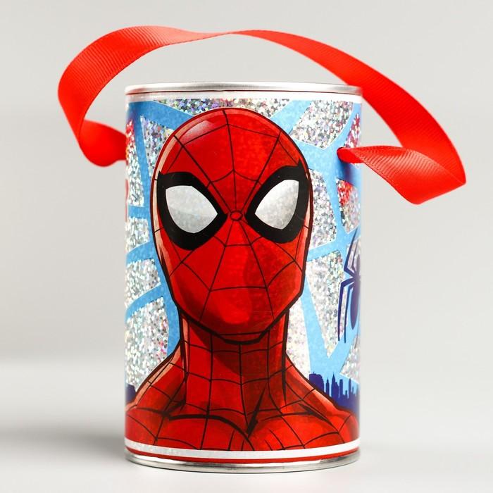 Копилка с голографией, Человек-паук 12 см х 7,8 см х 7,8 см