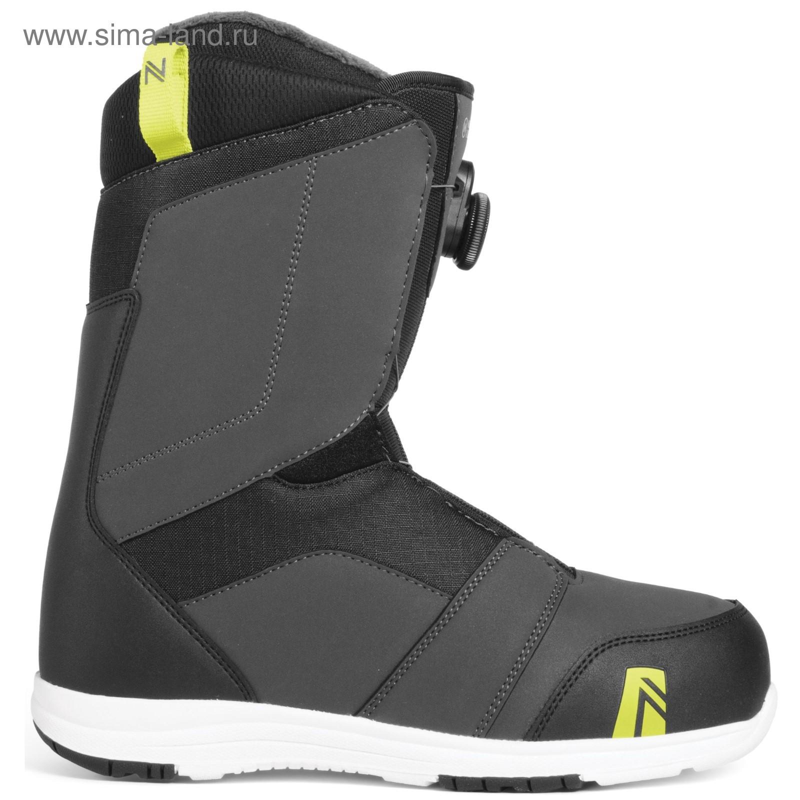 50e4c535a71d Ботинки для сноуборда NIDECKER 2018-19 Ranger Boa Charcoal, размер ...