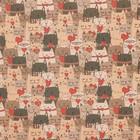 Бумага упаковочная крафтовая «Котики», 50 × 70 см
