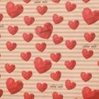 Бумага упаковочная крафтовая «Обожаю тебя», 50 × 70 см
