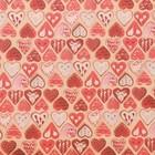 Бумага упаковочная крафтовая «Печенье любви», 50 × 70 см