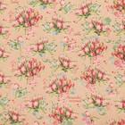 Бумага упаковочная крафтовая «Букет тюльпанов», 50 × 70 см