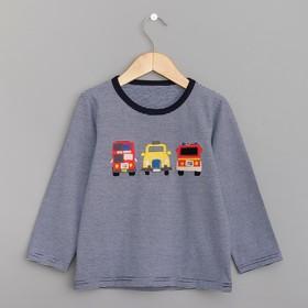 """Джемпер для мальчика MINAKU """"Автомобили"""", рост 80-86 см, цвет синий"""