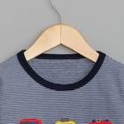 """Джемпер для мальчика MINAKU """"Автомобили"""", рост 80-86 см, цвет синий - фото 105711281"""
