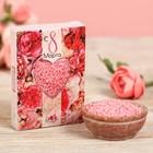 """Жемчужины для ванн """"С 8 Марта"""" с ароматом ягодного чизкейка, 100 г"""