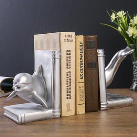 Bookends Dolphin set of 2 PCs 17x28x23 cm