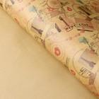 Бумага упаковочная крафт 50 х 70 см