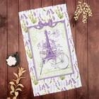"Towel ""Share"" Provence 35х60±2 cm,100% CL, рогожка162г/m2"