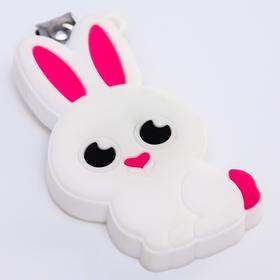 """Baby cutters """"Bunny"""" with rubber element"""