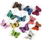 Бабочки перьевые на прищепке «Млечный путь», 6,5, набор 12 штук