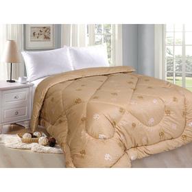 Одеяло «Верблюд» элит, 142х205 см верблюжья шерсть, 250 гр/м, тик, хл 100%