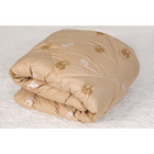 Одеяло «Верблюд» элит, 142х205 см верблюжья шерсть, 250 гр/м, тик, хл 100% - фото 105555309