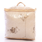 Одеяло «Верблюд» элит, 142х205 см верблюжья шерсть, 250 гр/м, тик, хл 100% - фото 105555311
