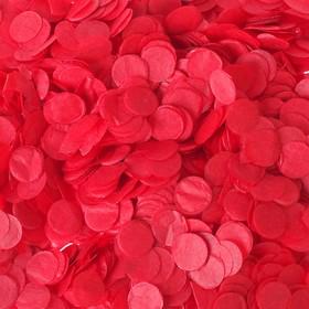 Конфетти, 0,5 мм, 20 г, цвет красный