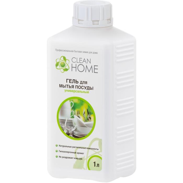 Гель для мытья посуды Clean home, 1 л