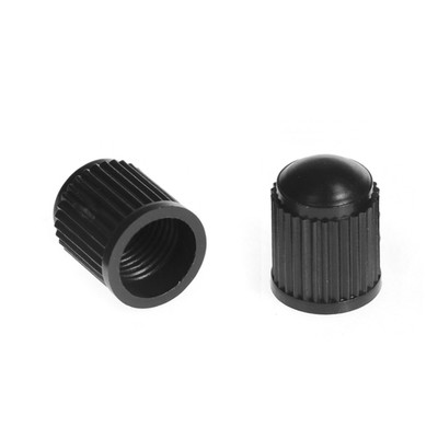 Cap for valves, plastic, black, packing 100 PCs