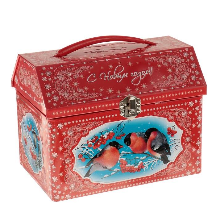 """Сладкий новогодний подарок """"Снегири"""", 1 кг"""