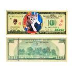 """Закладки-купюры """"Кошки"""" микс доллары"""