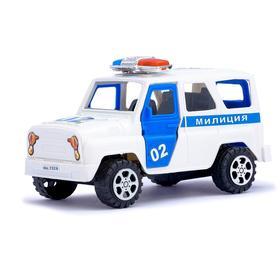Машина инерционная «Милиция», с открывающимися дверьми