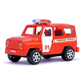 Машина инерционная «Пожарная охрана», с открывающимися дверьми
