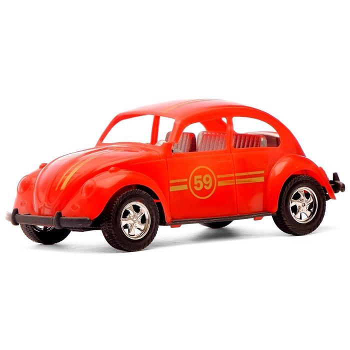 Машина инерционная «Ретро», цвета МИКС