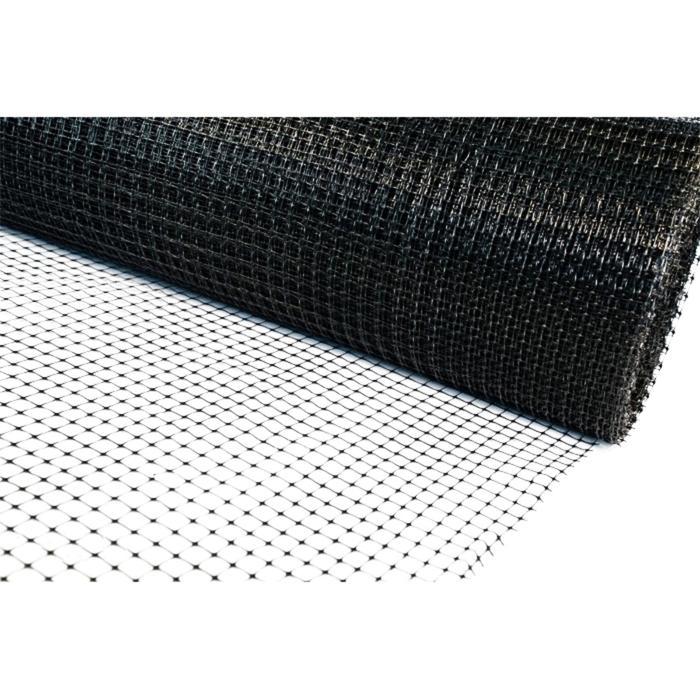 Сетка кладочная, 0,5 × 100 м, ячейка 5 × 5 мм, чёрная