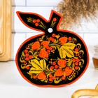 Cutting Board Apple, Khokhloma, mix