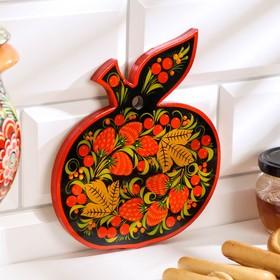 Cutting Board Apple, Khokhloma, mix
