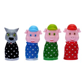"Finger puppet theater ""Three Little Pigs"""