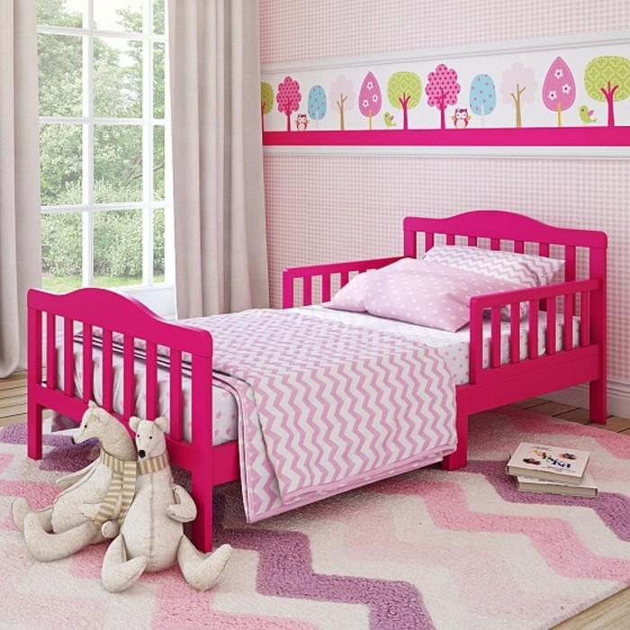 Кровать подростковая Candy Barbie Pink, 150 х 70 см, цвет фуксия