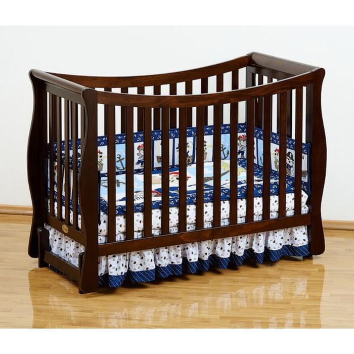 Кровать детская Giovanni  Fresco CHOCOLO, продольный маятник, цвет шоколадный