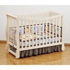 Кровать детская Giovanni  Fresco IVORY, продольный маятник, цвет слоновая кость