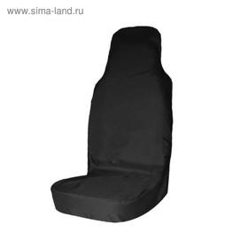 Чехол грязезащитный на переднее сиденье Tplus для УАЗ ПАТРИОТ, черный (T014073) Ош