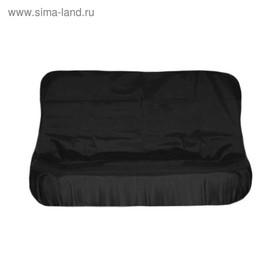 Чехол грязезащитный на заднее сиденье Tplus для УАЗ ПАТРИОТ, черный (T014057) Ош