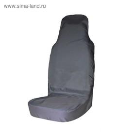 Чехол грязезащитный на переднее сиденье Tplus для УАЗ ПАТРИОТ, серый (T014070) Ош