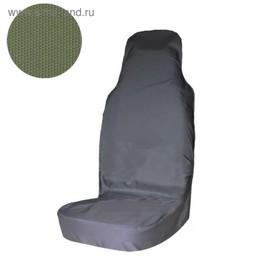 Чехол грязезащитный на переднее сиденье Tplus для УАЗ ПАТРИОТ, олива (T014076) Ош