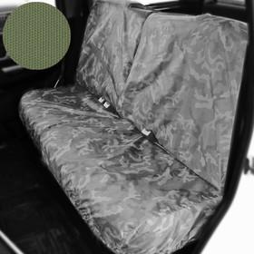 Раздельный чехол на заднее сиденье Tplus для УАЗ ПАТРИОТ, 4шт., олива (T014368) Ош