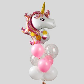 """Set for a holiday decoration, """"My Unicorn"""""""