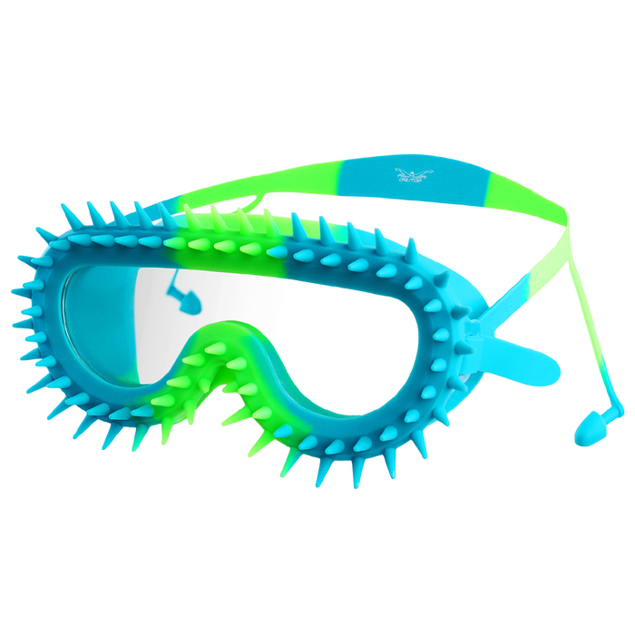 Очки для плавания + беруши, детские, цвета МИКС