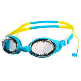 Swim goggles with ear plugs baby BL93S, mix colors