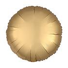 """Шар фольгированный 18"""" «Круг» с клапаном, матовый, цвет золотой - фото 308475687"""