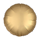 "Balloon foil 5"" ""Circle"" with valve, matte, color gold"