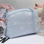 Bag children's Department with zipper, long strap, color blue