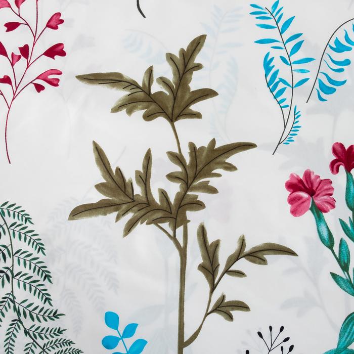 Ткань напечатанная Ботаника ш.220 см,75 г/м2, 30 пм, микрофайбер,100% п/э