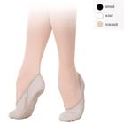 Балетки, кирза, раздельная подошва, мод.1/1-Р, размер 46, цвет белый, полнота В