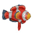 "Balloon foil 14"", ""Fish"", MIX colors"
